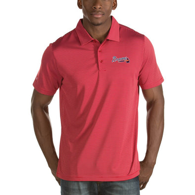 ATL Braves Red Quest Polo