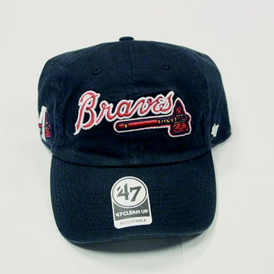 Mississippi Braves Script Logo Side Cap