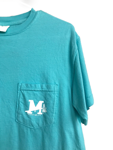 Braves Wordmark Lagoon Tee
