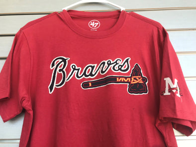 Red Braves Fieldhouse Tee