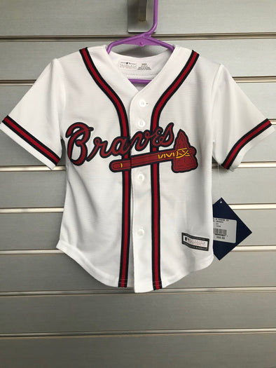 Toddler Braves Replica Jersey