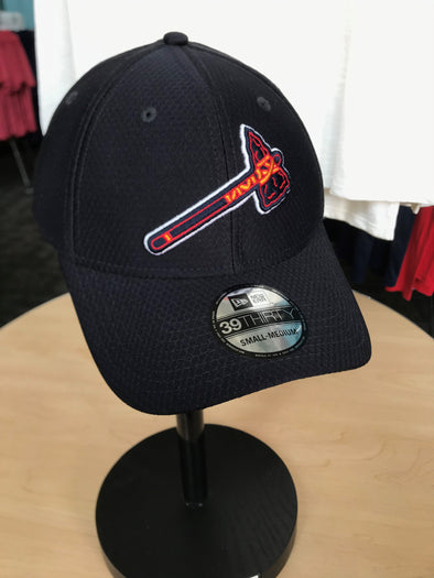 MiLB 2019 BP Braves Tomahawk Flex Fit Cap