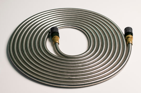 Ultimate Steel Garden Hose - 50ft (15m)