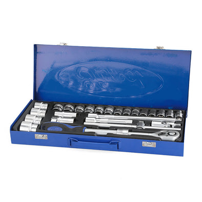 Ford Tools 25pc 1/2  Ratchet and Socket Set