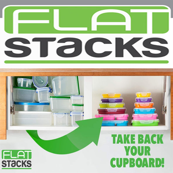 Flat Stacks - Round 4 Piece Set