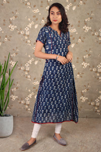 Tangy Twist Kurta Dress