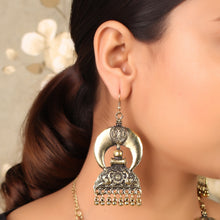 Load image into Gallery viewer, Luxurious Rani Haar With Earrings
