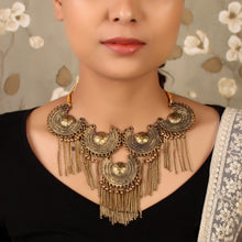Load image into Gallery viewer, The Shining Suns Statement Necklace