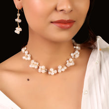 Load image into Gallery viewer, The Magical Crystal Necklace Set In White