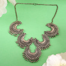 Load image into Gallery viewer, The Shining Moons Statement Necklace