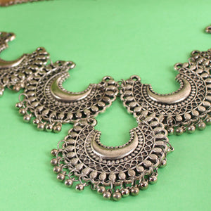 The Shining Moons Statement Necklace