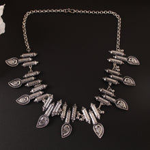 Load image into Gallery viewer, The Shy Peacocks Statement Necklace