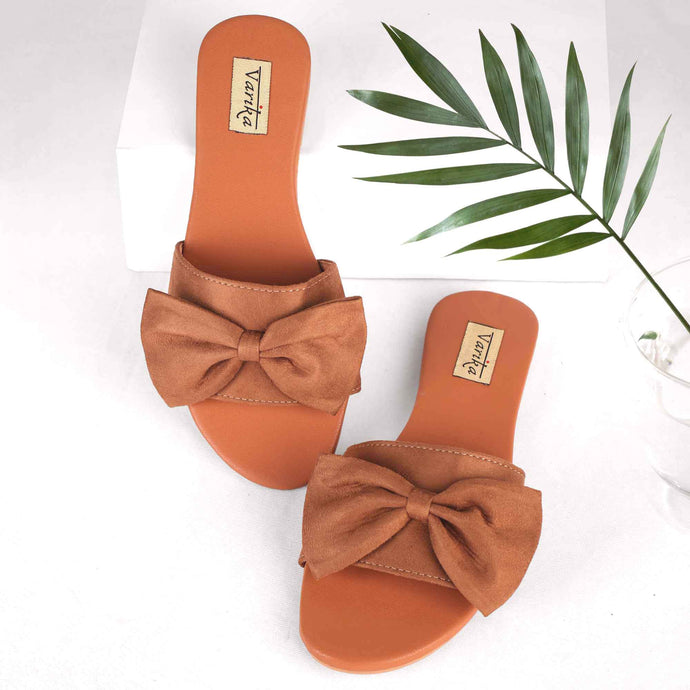 The Mega Bow Slide Sandals