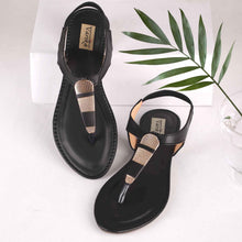 Load image into Gallery viewer, Made For Everyday Ankle Strap Sandals in Black