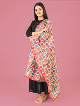 Load image into Gallery viewer, Colorful Chakris Hand-Made Dupatta