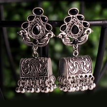 Load image into Gallery viewer, Hermosa Earrings In Black