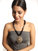 Load image into Gallery viewer, Black Statement Necklace