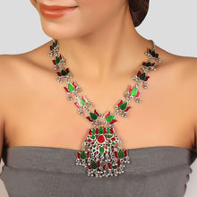 Load image into Gallery viewer, Multicolour Floral Necklace