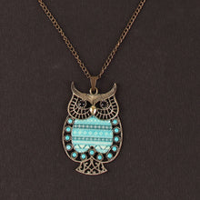 Load image into Gallery viewer, Ouch Owl Pendant Necklace