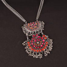 Load image into Gallery viewer, Leela Dual Disc Necklace