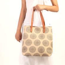 Load image into Gallery viewer, Piaget creamy Tote bag