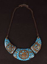 Load image into Gallery viewer, Sanwari Oxidised Necklace