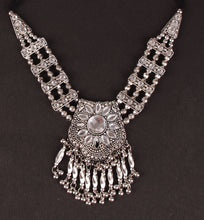 Load image into Gallery viewer, Afghani silver neck-piece