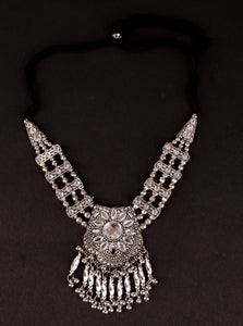 Afghani silver neck-piece