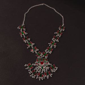 Multicolour Floral Necklace