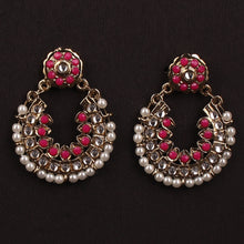 Load image into Gallery viewer, DESIGNER PINK EARRINGS