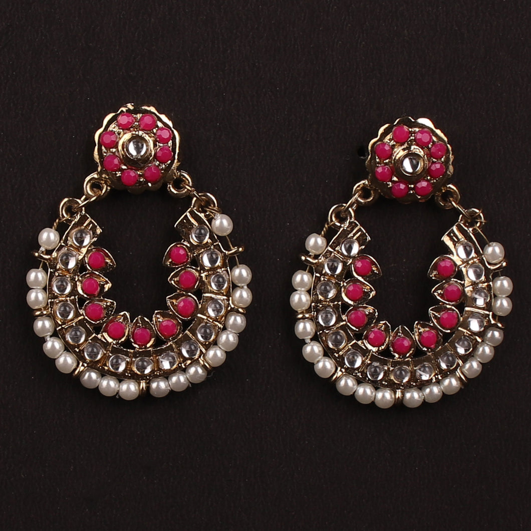 DESIGNER PINK EARRINGS