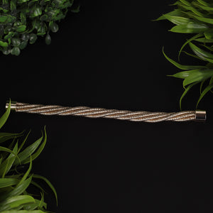Gold Intertwined Magnetic Bracelet For Women