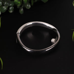 Gray & Silver Interlocked Bracelet For Women