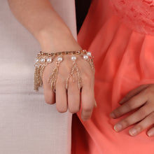 Load image into Gallery viewer, Rose Gold Pearl Bracelet For Women