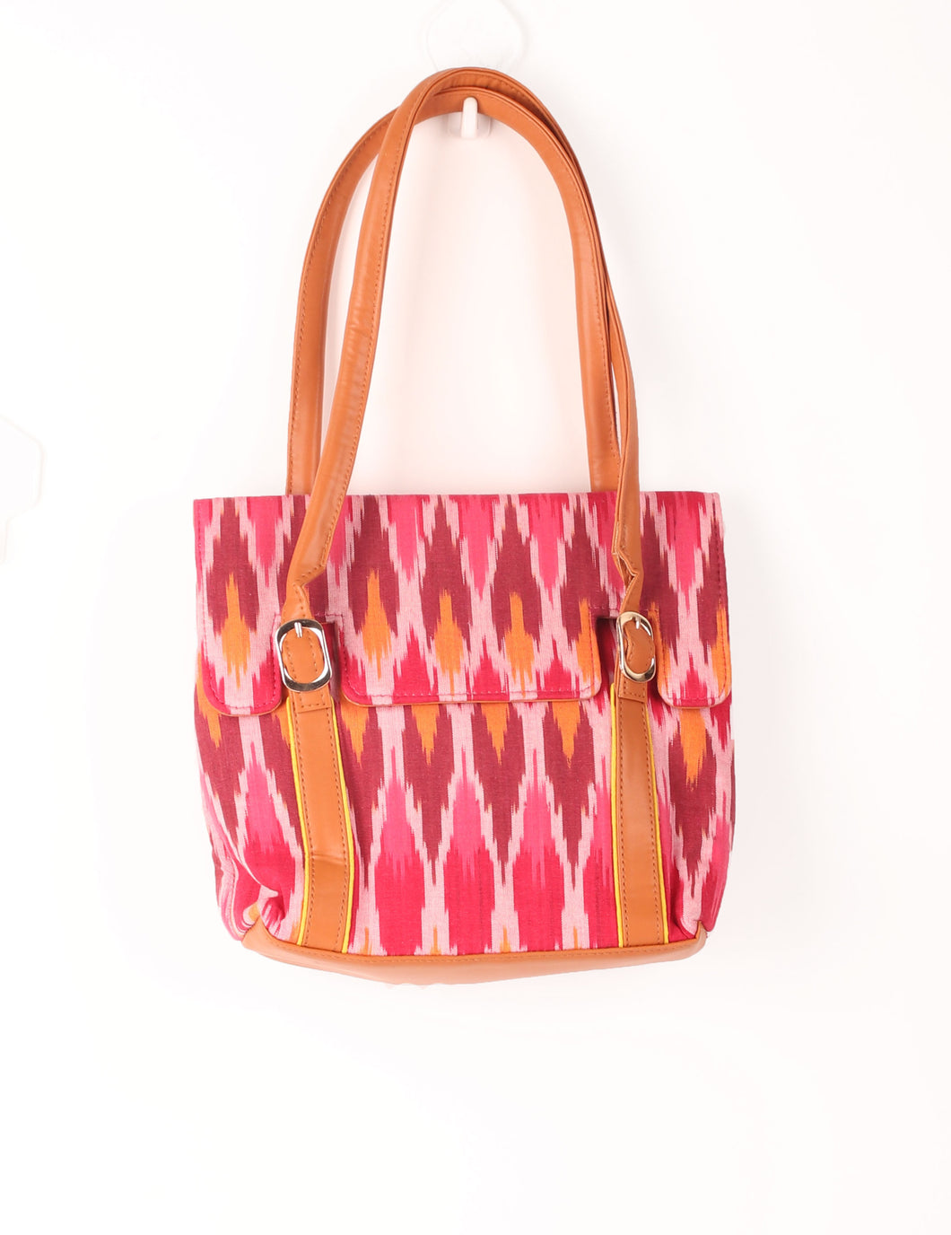 Buckle Printed Sling Bag
