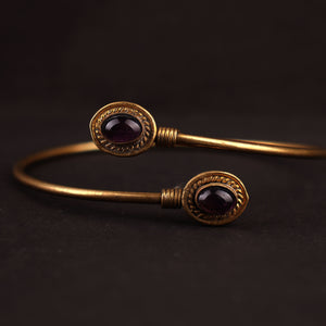 Bewitching Black Bangle  Bracelet