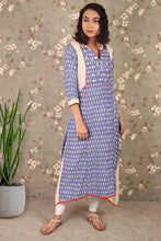 Load image into Gallery viewer, ikat kurta online