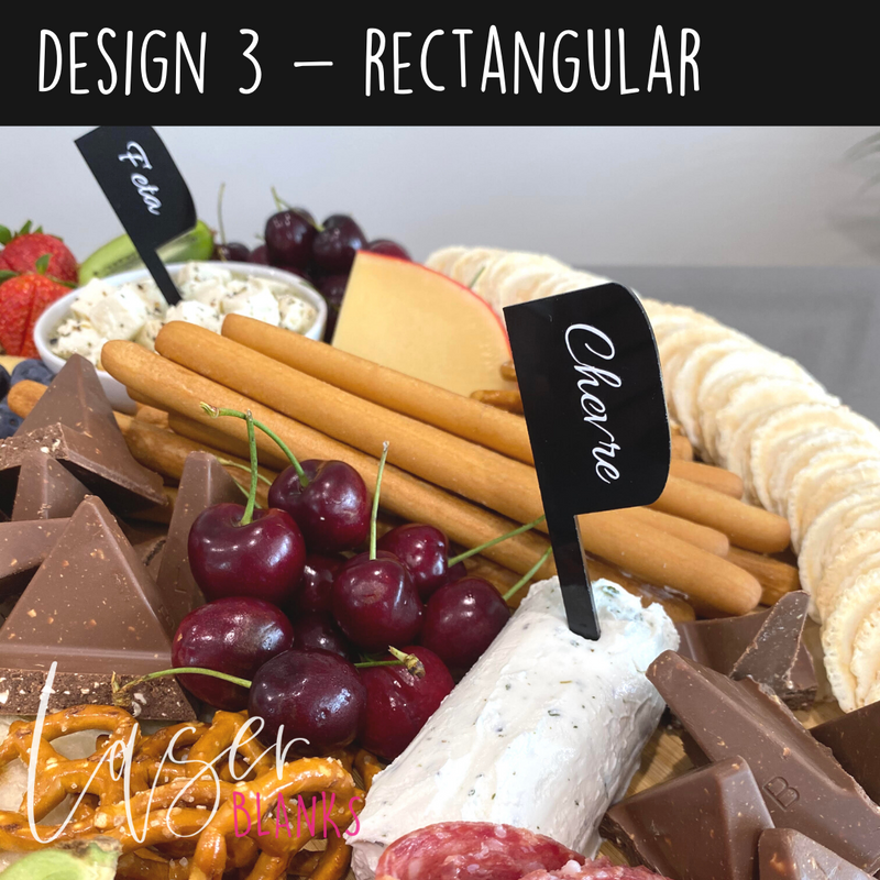 Cheese Spikes | Cheese Spike Blanks | Dessert Labels