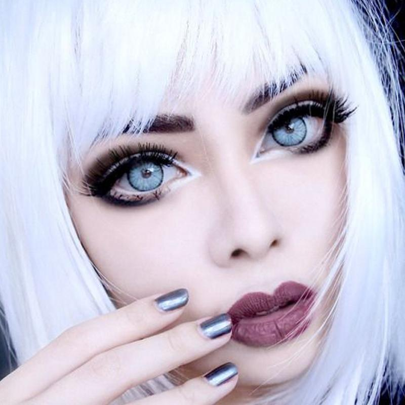 cosplay devil blue eyes (12 months) contact lens