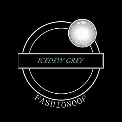 Eye Circle Lens Icedew Grey Colored Contact Lenses