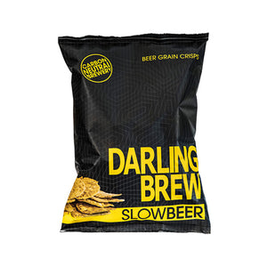 Slow Beer Grain Crisps - Darling Brew