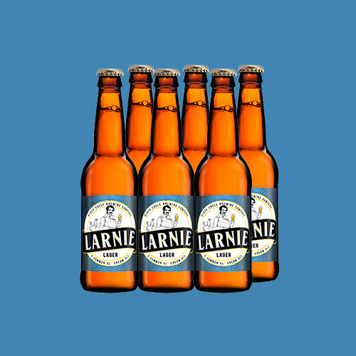 Larnie Lager by Black Eagle Brewing Co. (12 x 340ml) - Darling Brew