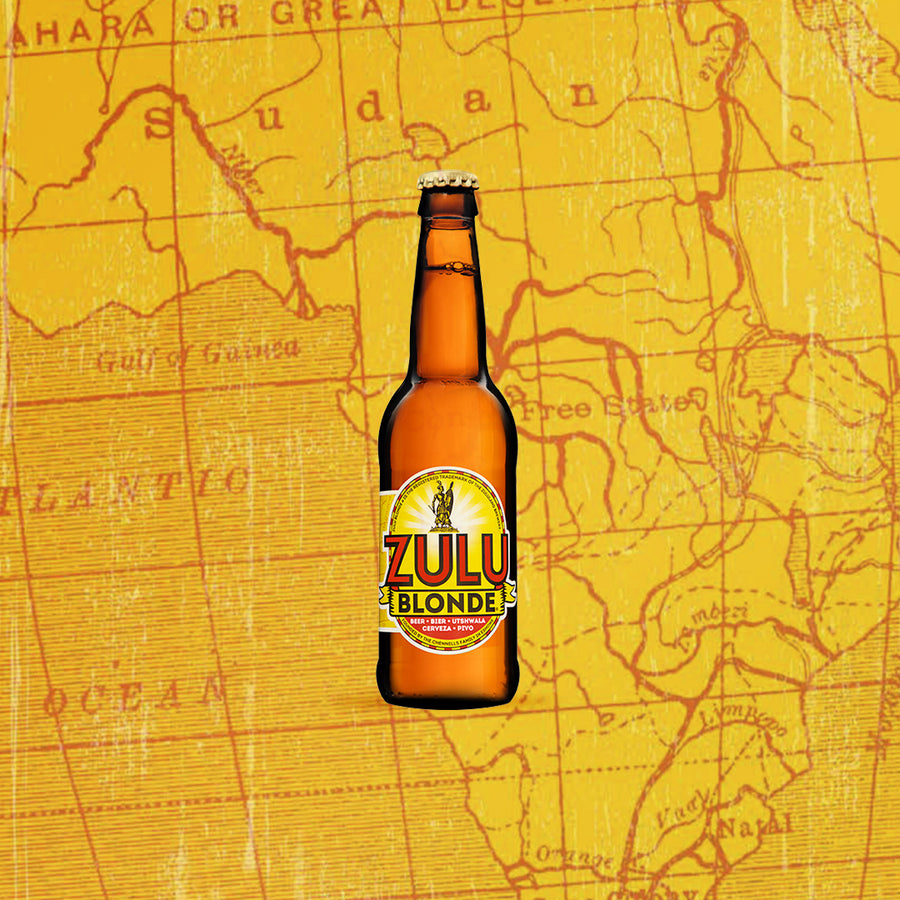 Zulu Blonde by Zululand Brewing Co. (12 x 340ml) - Darling Brew