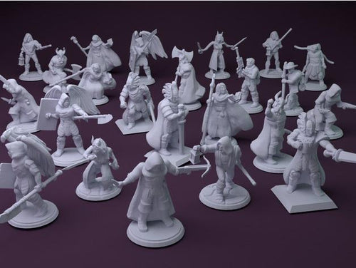 3D printed Miniature - That Prints