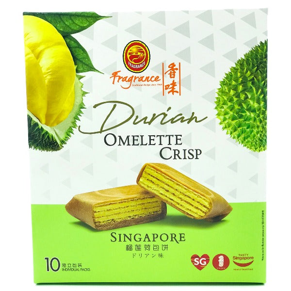 (Limited Time Offer) Durian Omelette Crisp (10 Individual Pkt) 榴莲荷包饼