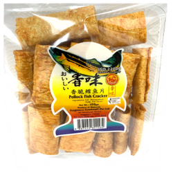 Pollock Fish Cracker (100g) 香脆鳕鱼片