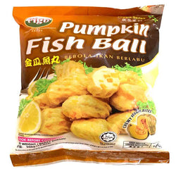 Pumpkin Fish Ball 500g 金瓜鱼丸