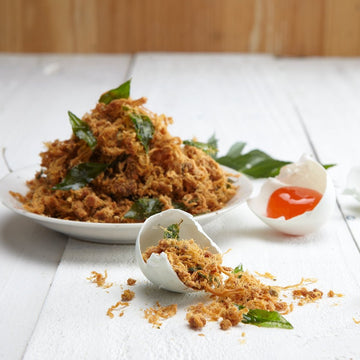 Salted Egg Pork Floss (300G) 咸蛋肉松