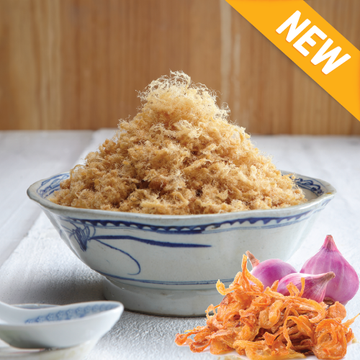 Shallot Pork Floss 小香葱肉丝 (260g)