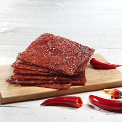Chilli Bak Kwa (500g) Freshly Grilled - 辣椒肉干 (现烤)